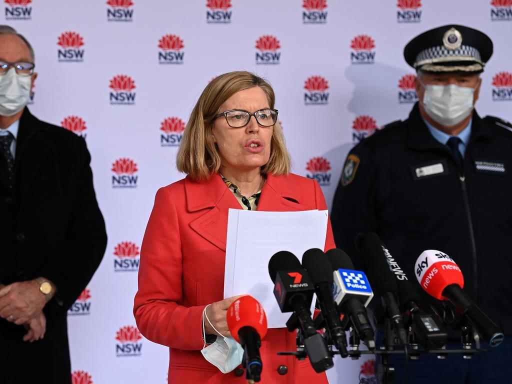 """Dr Kerry Chant asked the """"key"""" suburbs to stay in. Picture: NCA NewsWire/Bianca De Marchi"""