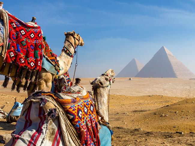 EGYPT/OMAN/UAE, 20-DAY PACKAGE $4599: Combine three trips in one when you take off on a 20-day holiday covering Egypt, Oman and the United Arab Emirates from $4599 a person, twin share, including return economy flights from Australia, a saving of 30 per cent. The itinerary includes five-star hotel accommodation and an 11-night cruise to Abu Dhabi, Muscat, Qatar and more, plus visits to the pyramids and Sphinx of Giza and a desert 4WD safari outside Dubai. Price based on a January 20 or a February 11, 2020 departure. tripadeal.com.au