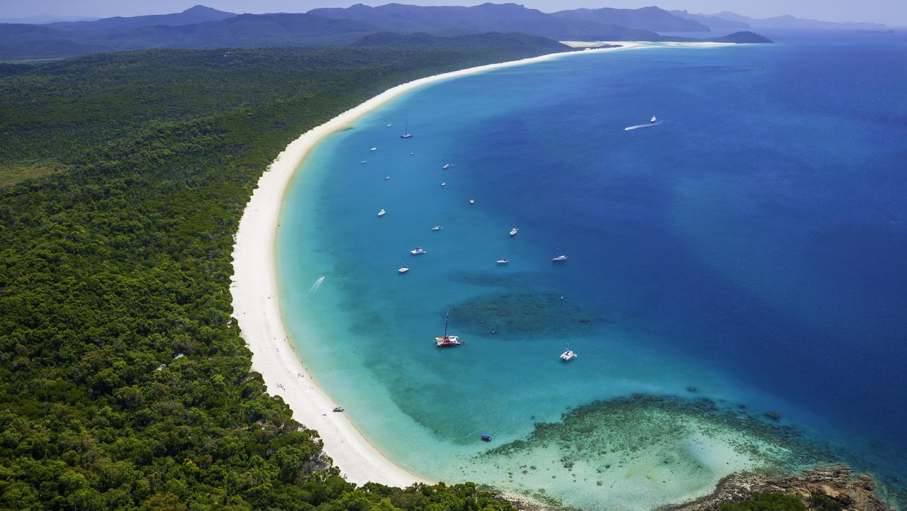 Nothing beats Whitehaven Beach in the Whitsundays.