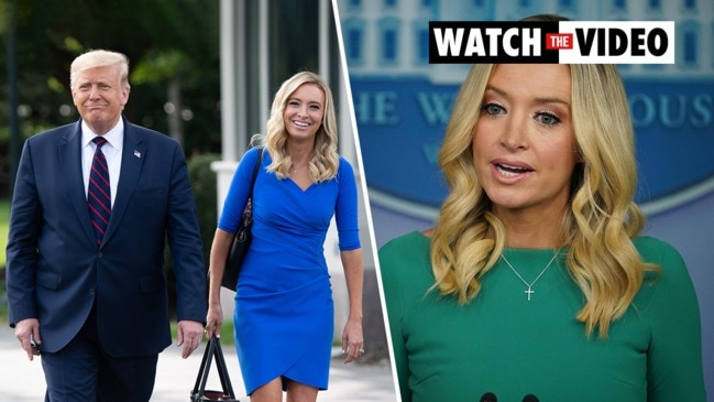 Kayleigh McEnany: Who is Donald Trump's press secretary?