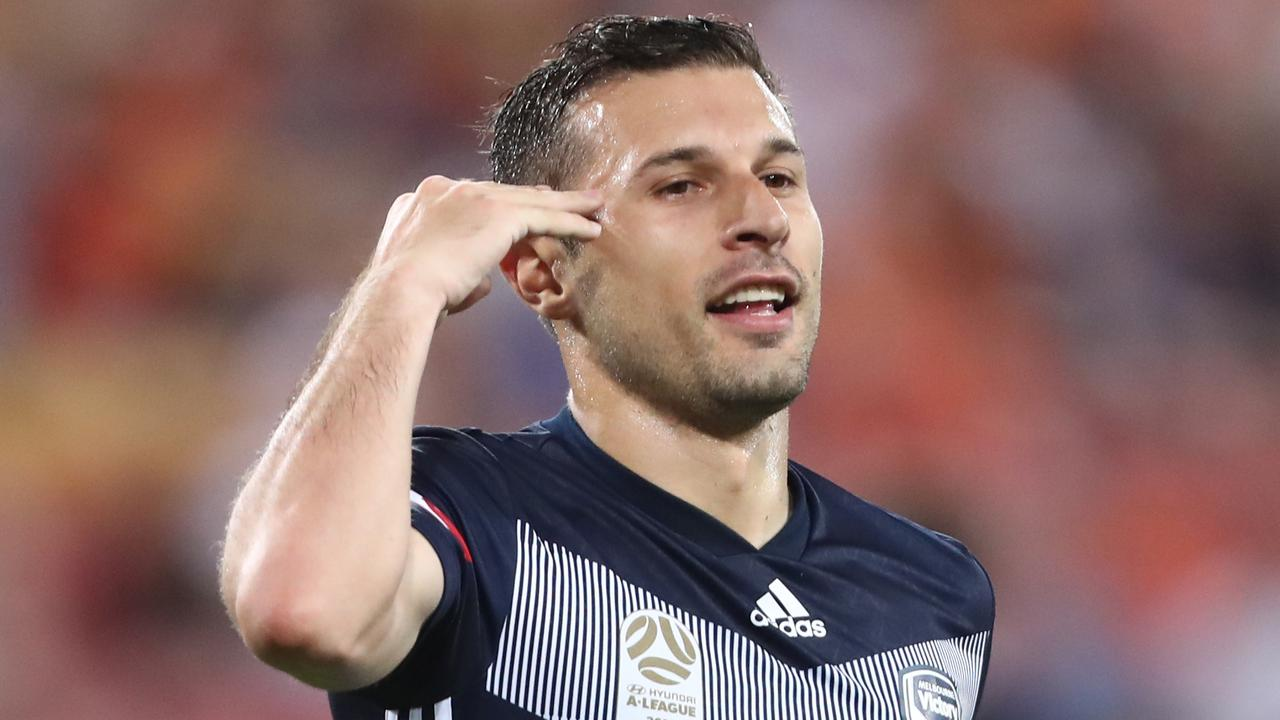 Kosta Barbarouses has been in great touch in front of goal for Victory. Picture: Getty Images