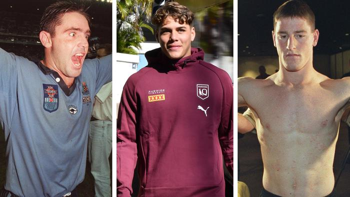 Brad Fittler Reece Walsh and Brent Tate.