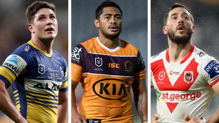 The pressure is on Mitchell Moses, Anthony Milford and Ben Hunt.
