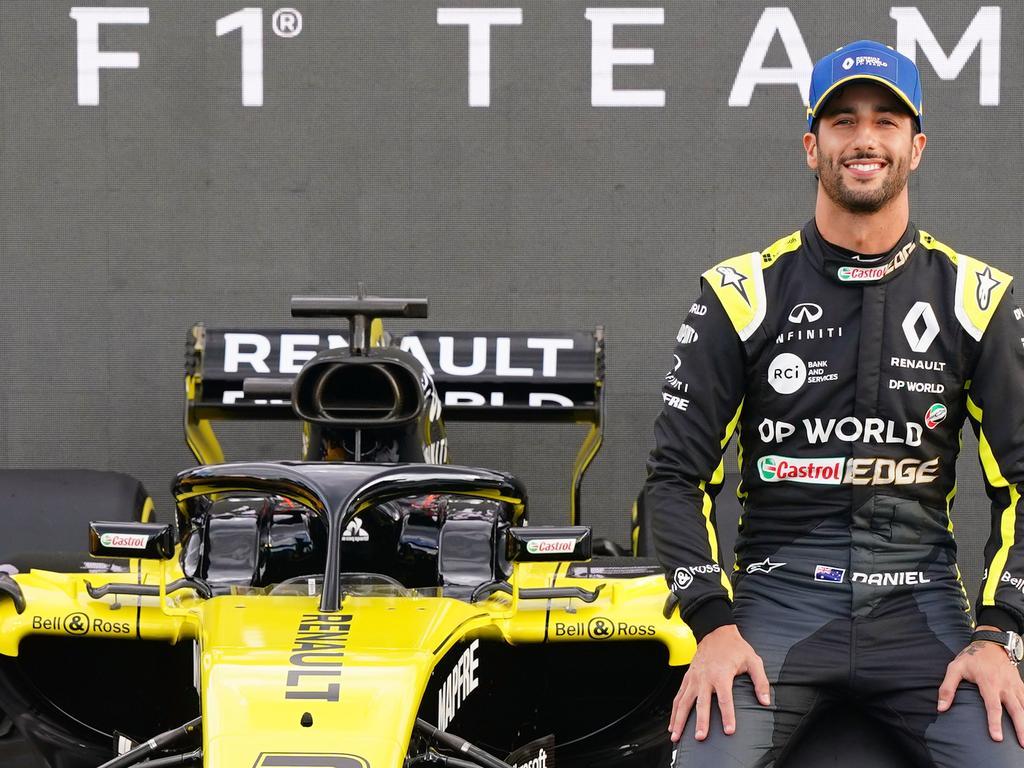 Daniel Ricciardo has left the door open.