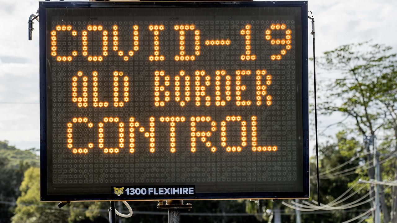 Queensland's call to keep its border closed to NSW and Victoria for the better part of this year has faced a barrage of criticism. Picture: Jerad Williams
