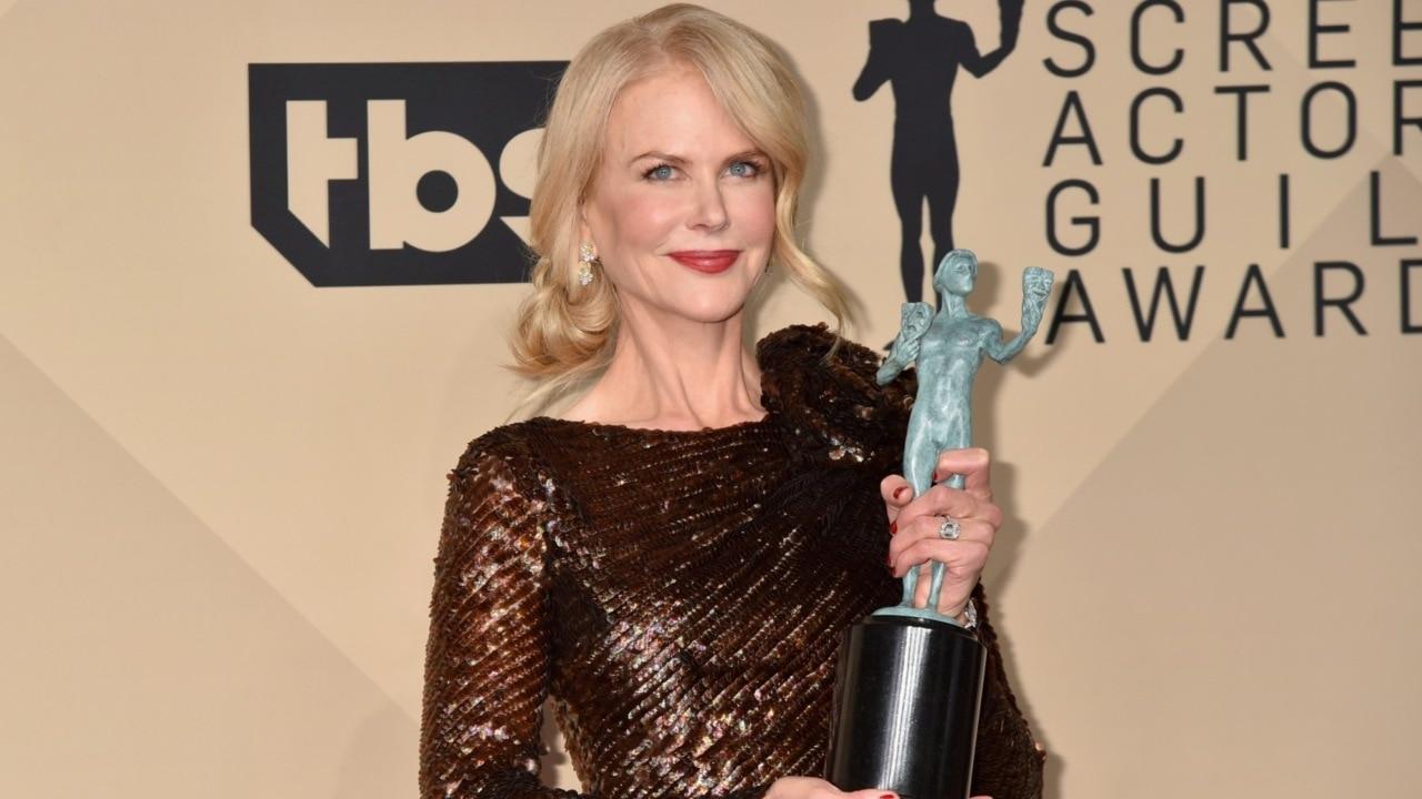 Nicole Kidman wins SAG Award for role in 'Big Little Lies'
