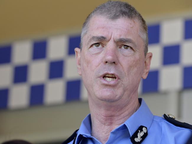 Police commissioner Karl O'Callaghan announced the cold case review today.