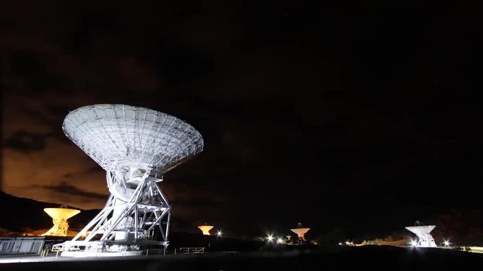 Inside the deep space communications complex