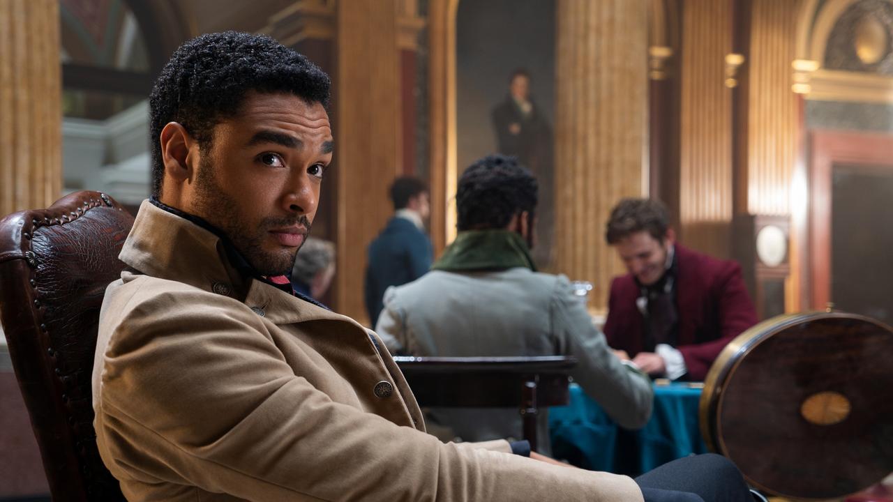 """Regé-Jean Page's departure from """"Bridgerton"""" has Hollywood buzzing. Picture: Netflix"""