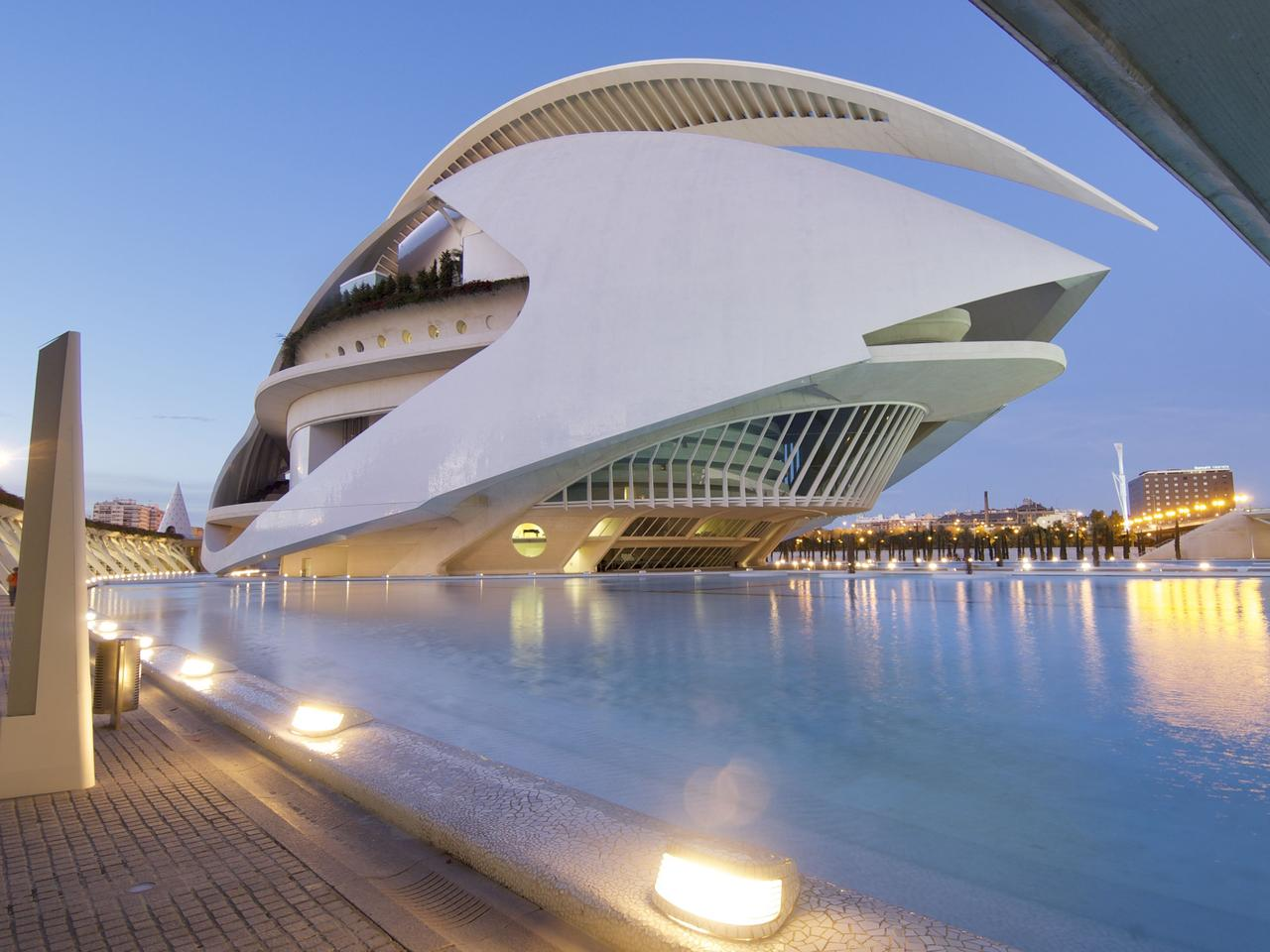 City of Arts and Sciences in Valencia, Spain. For Escape travel story about Europe's undiscovered hidden gems. Please credit Thinkstock