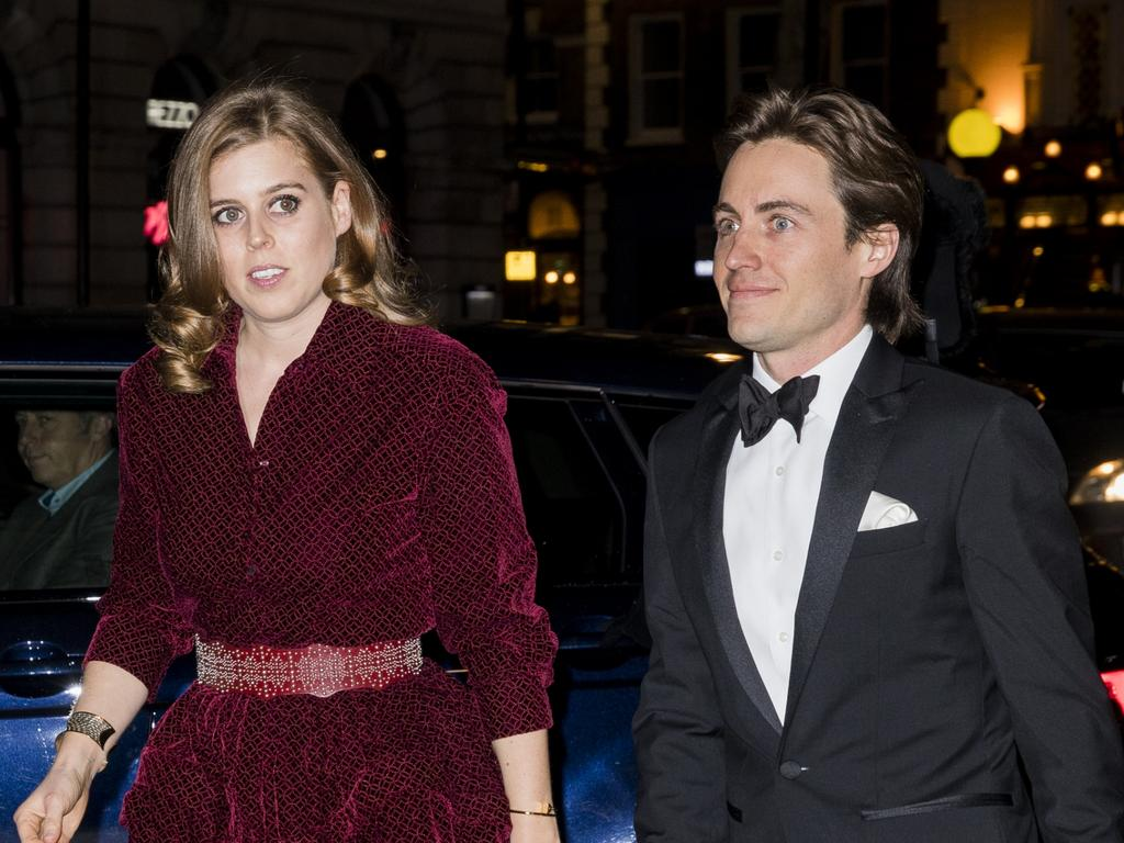 The couple in London in March 2019. Picture: Tristan Fewings/Getty Images