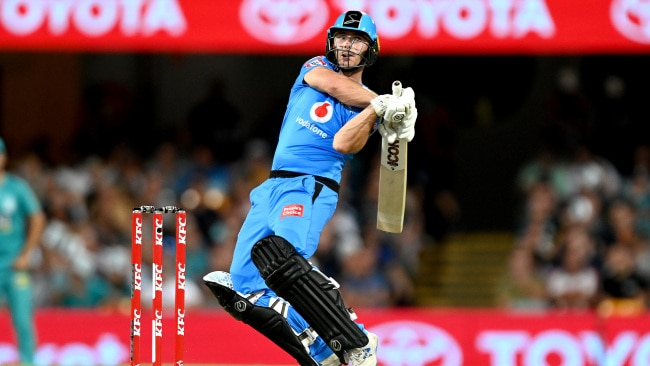 Jono Wells saved the Strikers from complete embarrassment with the bat.