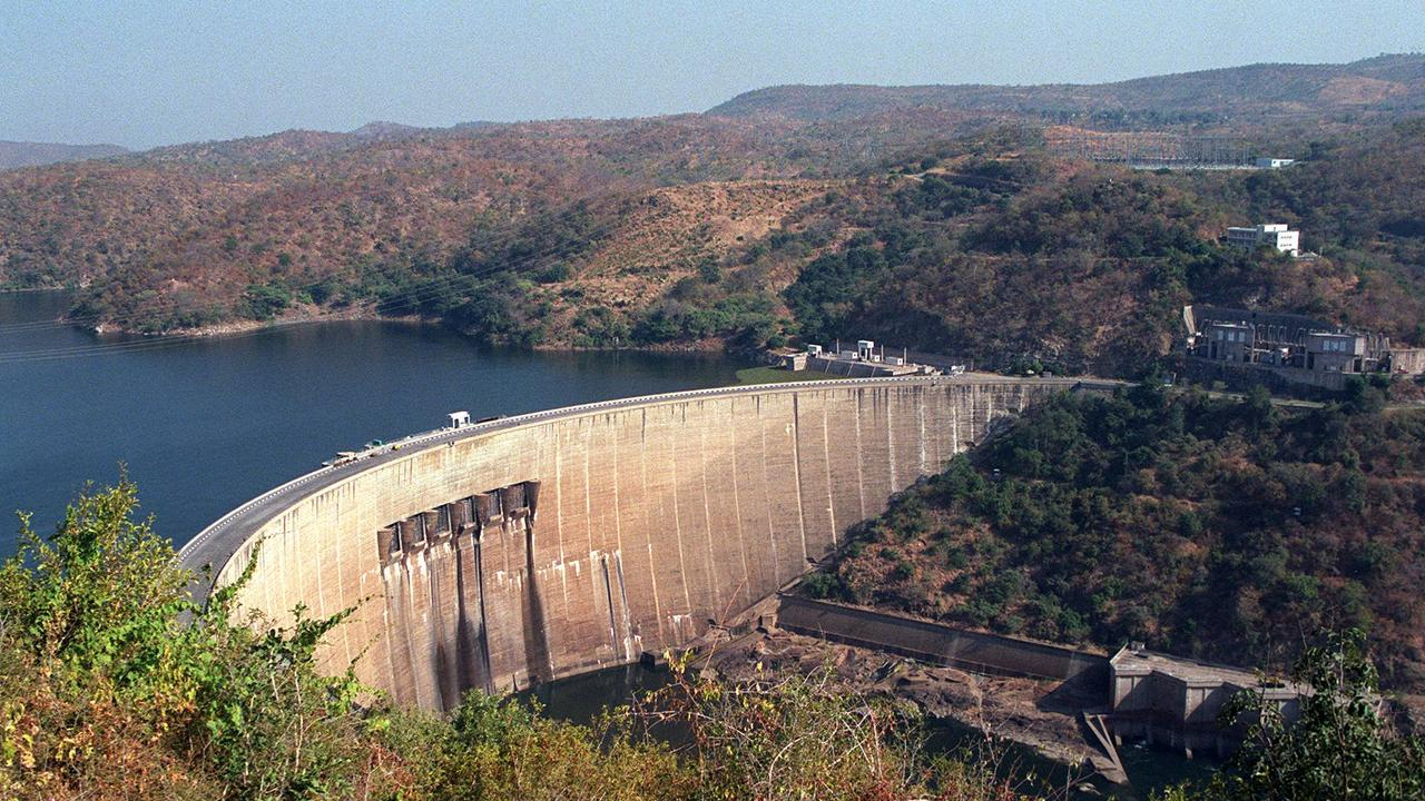 Kariba Dam reservoir is at record lows, sparking fears Zimbabwe and Zambia will be forced to shut down vital hydro power stations.