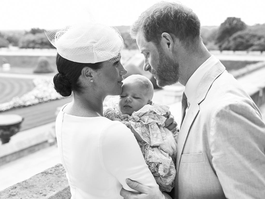 The Sussexes are more image conscious than the Cambridges, taking extreme care to release intimate photos that match their Instagram aesthetic. Picture: Chris Allerton/SussexRoyal/AFP.