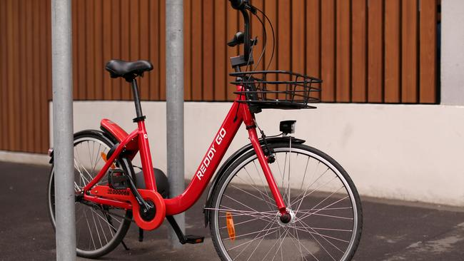 Ride sharing services have been part of the shift towards bicycles. Picture: Mark Kolbe/Getty Images