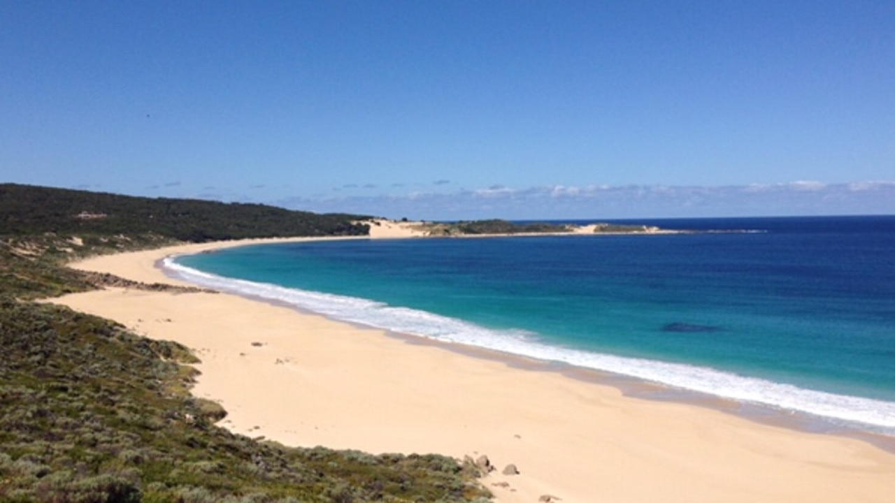 A body was found at Injidup Beach on Sunday morning about one month after the woman vanished. Picture: Supplied