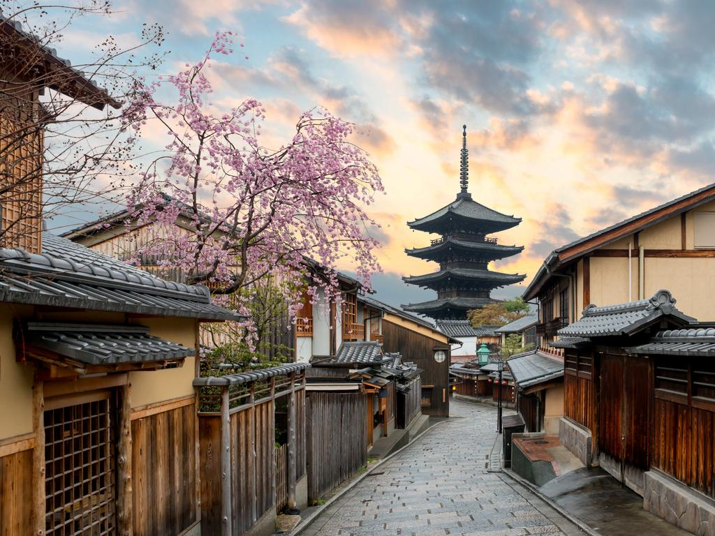 The food is just as delicious in charming Kyoto. Picture: iStock