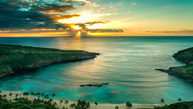 6/20Hanauma Bay, Hawaii, USA 570 metres, 345 pictures per metre The first Marine Life Conservation District in the Hawaii, this beach anchors a state park that feels remote and untouched but is in fact easily accessible. Bonus points for the coral pools.