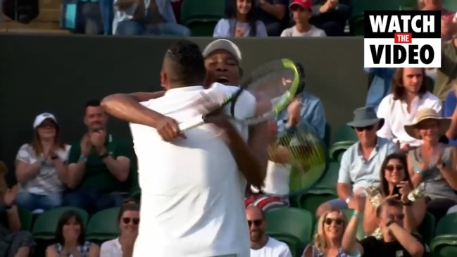 Nick Kyrgios and Venus Williams win first doubles match together