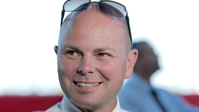 Trainer Matthew Dunn has six TAB Highway wins. Picture: Mark Cranitch