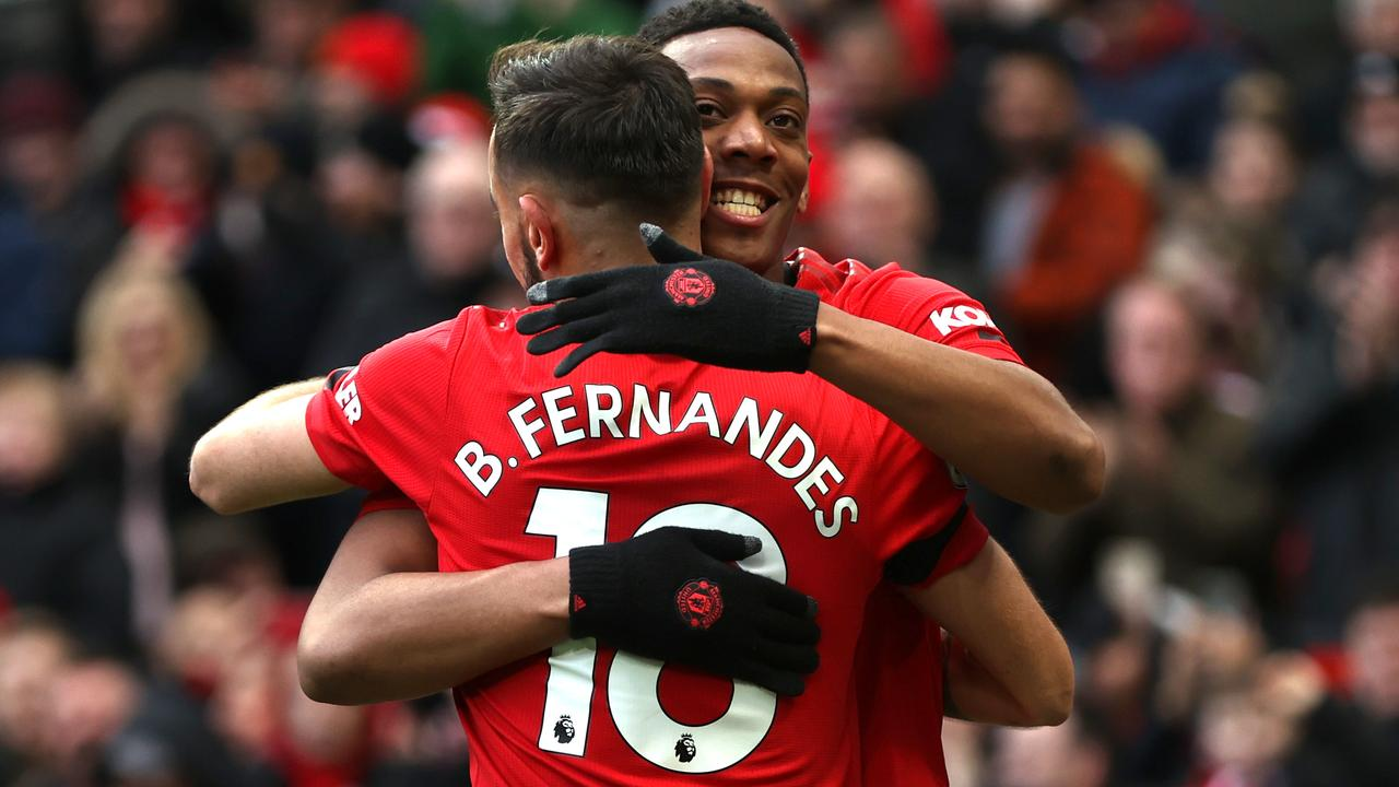 Bruno Fernandes and Anthony Martial made the difference.