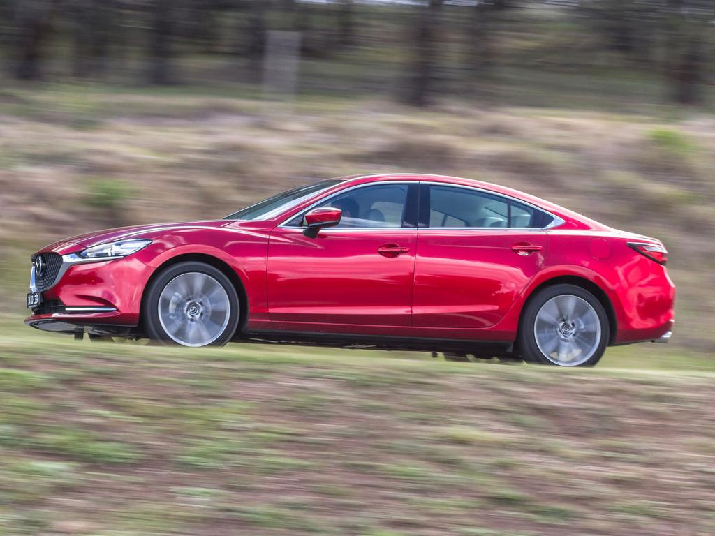 The Mazda 6 was third in the final vote. Picture: Thomas Wielecki.