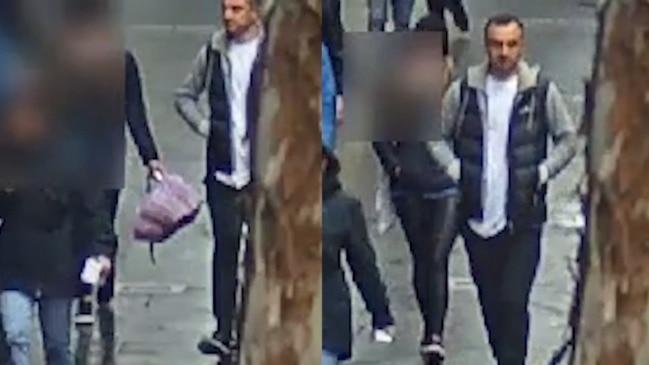 Cops release CCTV after tram sex assault