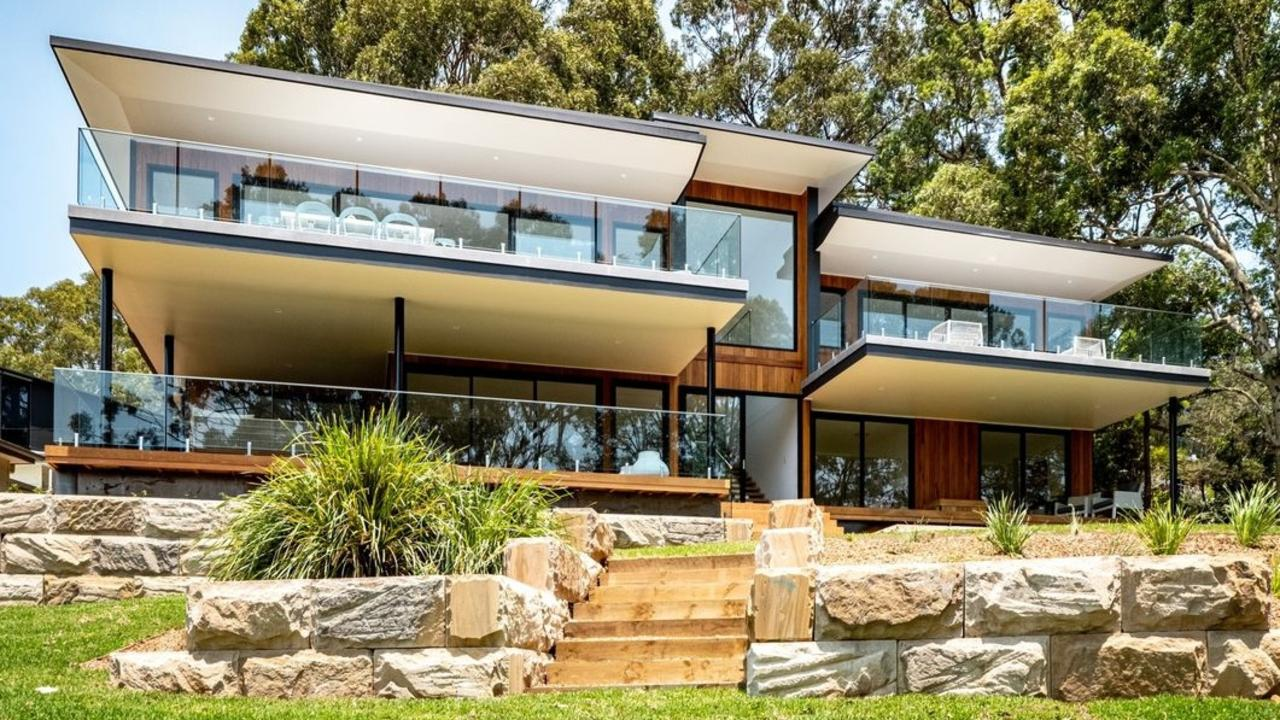 This brand new Pretty Beach home has beaten the suburb record by over $1 million. Picture: Belle Property.