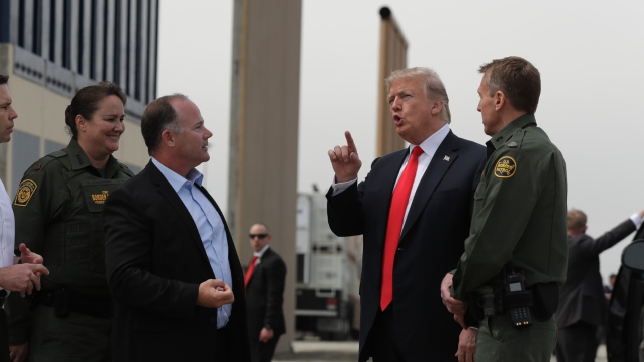 Military will be sent to guard the US-Mexico wall until completion: Trump
