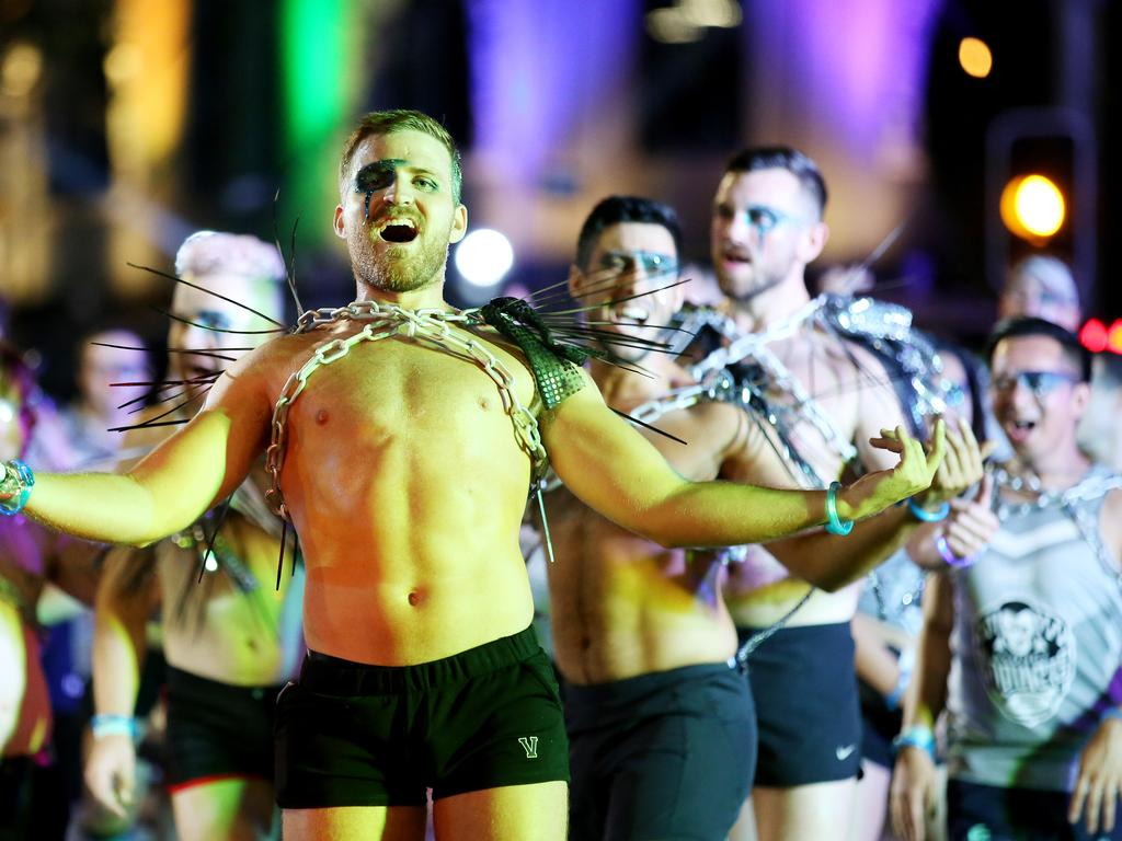 Next year's Mardi Gras will take place in a COVID-safe way at the SCG. Picture: Nikki Short