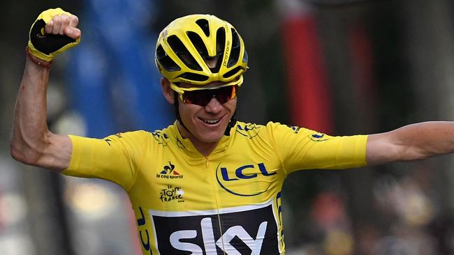 Chris Froome won his third Tour de France title in 2016.