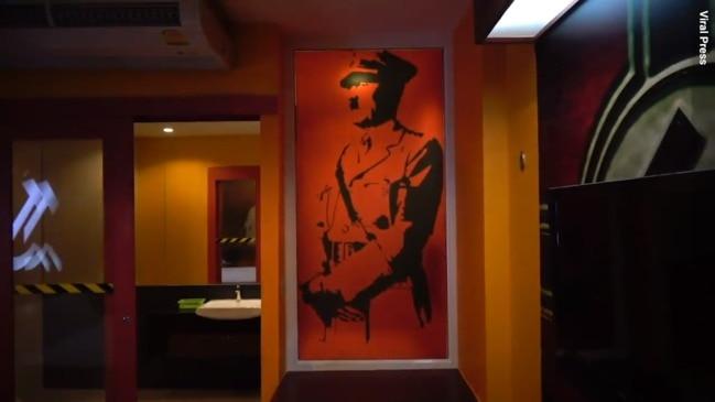 Hitler themed room at Thai sex hotel
