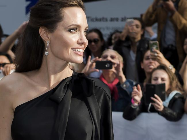 Director Angelina Jolie inspired countless women when she announced she had a preventive double mastectomy. Picture: AP.