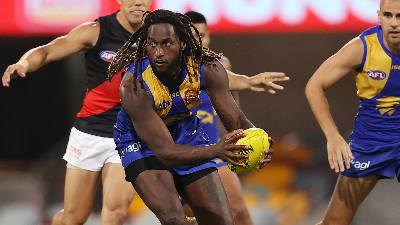 Nic Naitanui has opened up on a new podcast. Picture: Michael Klein