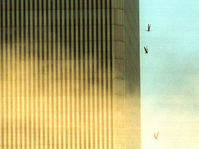 People jump to their death in panic. Picture: Getty