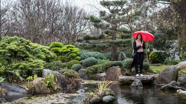 9/12Adelaide Japanese Garden For some innercity serenity head to Adelaide-Himeji Garden. The free garden is the perfect place for kids to explore, with everything from water features to giant Bonsai's, and a great pit stop for an afternoon snack.