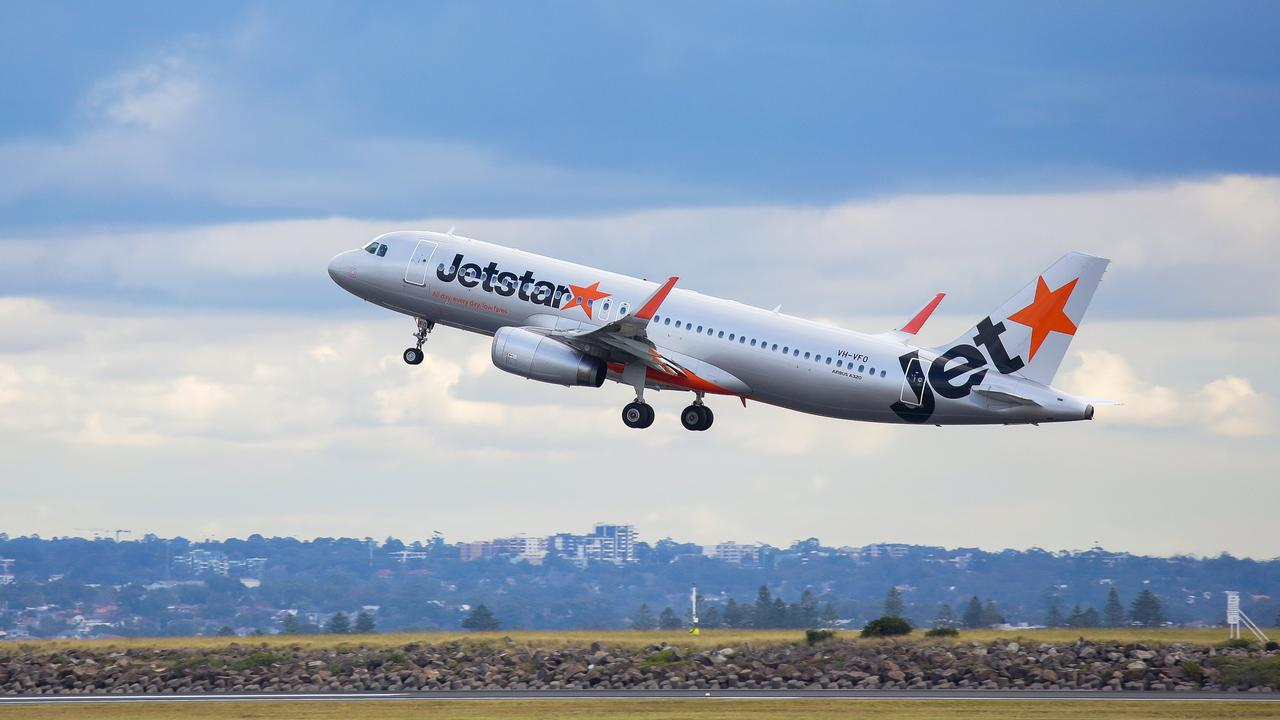 Jetstar have launched a $169 flight sale to Fiji. Picture: NCA NewsWire / Gaye Gerard