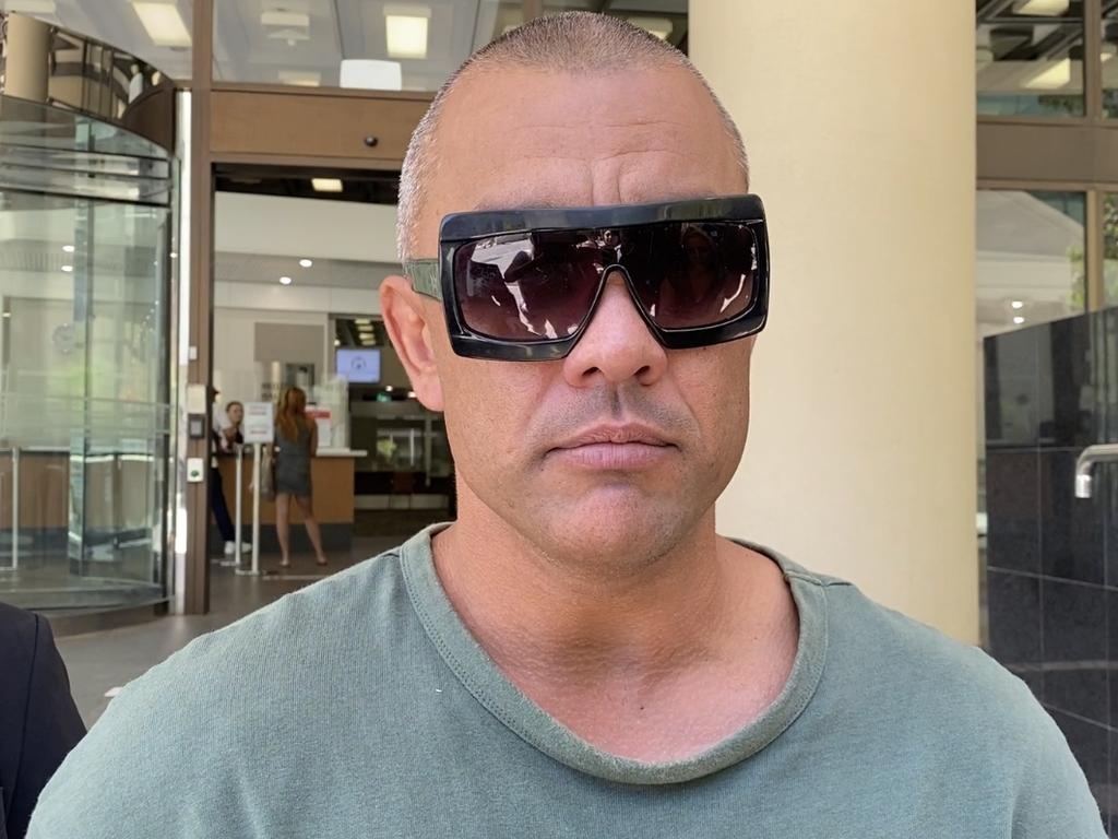 Daniel Kerr appeared in court via video link from prison. Picture: Angie Raphael/NCA NewsWire