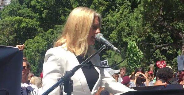 AU NSW: Tracey Spicer Condemns Misogyny and Sexual Assault in Women's March January 21