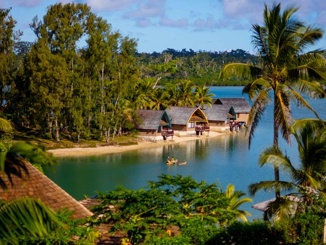 VANUATU 7-NIGHT PACKAGE, $799 Take 35 per cent off the bill when you book to stay six nights at the Holiday Inn Vanuatu now priced from $799 a person, twin share, plus kids 12 years and under stay, play and eat for free. Get upgraded to a lagoon view room (subject to availability at arrival) and also get buffet breakfast daily, two 30-minute massages per room, themed dinner, yoga on Thursday and Saturday, live entertainment nightly and more. Book before November 29, 2019 and travel until March 31, 2020. For details click HERE.