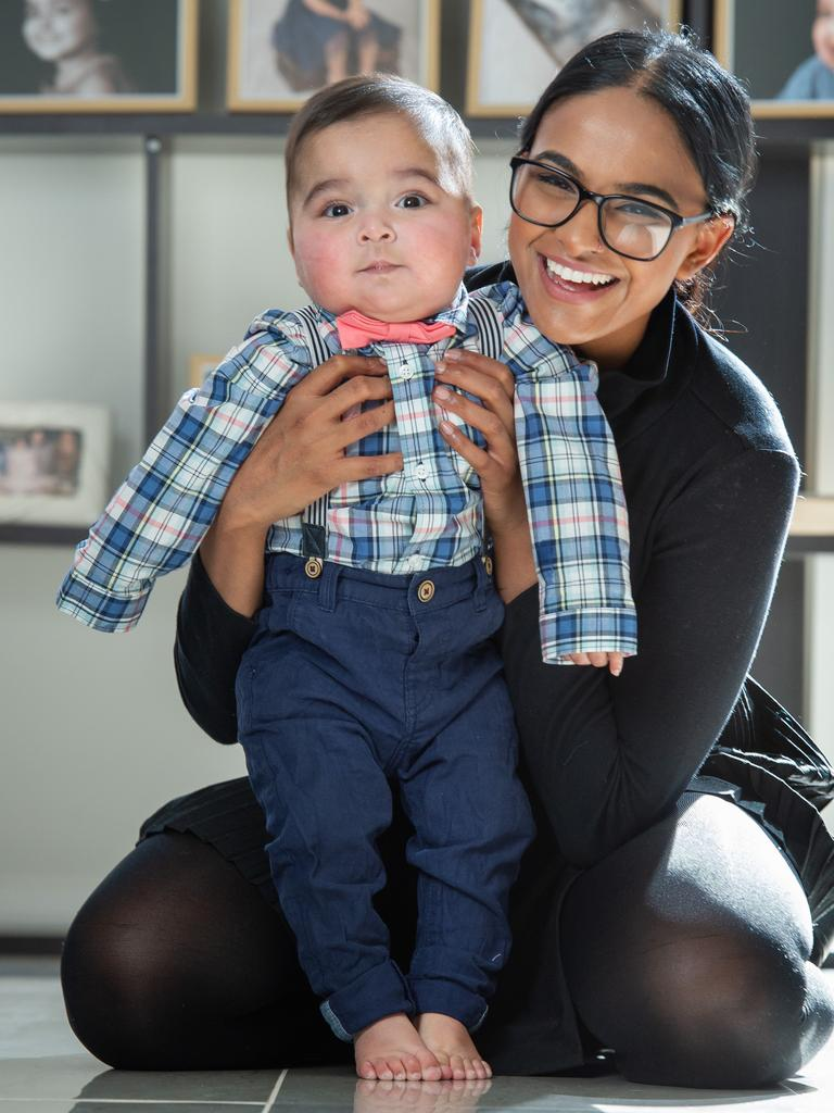 Liver transplant boy turns one