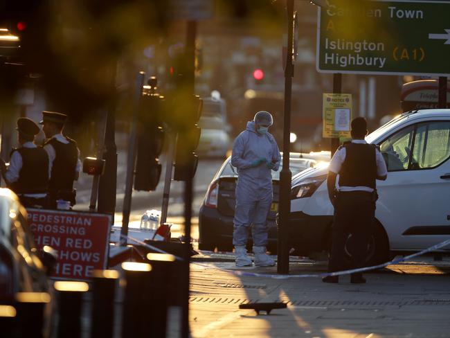 London Mayor Sadiq Khan has condemned the incident as 'a horrific terror attack'. Picture: Daniel Leal-Olivas/AFP