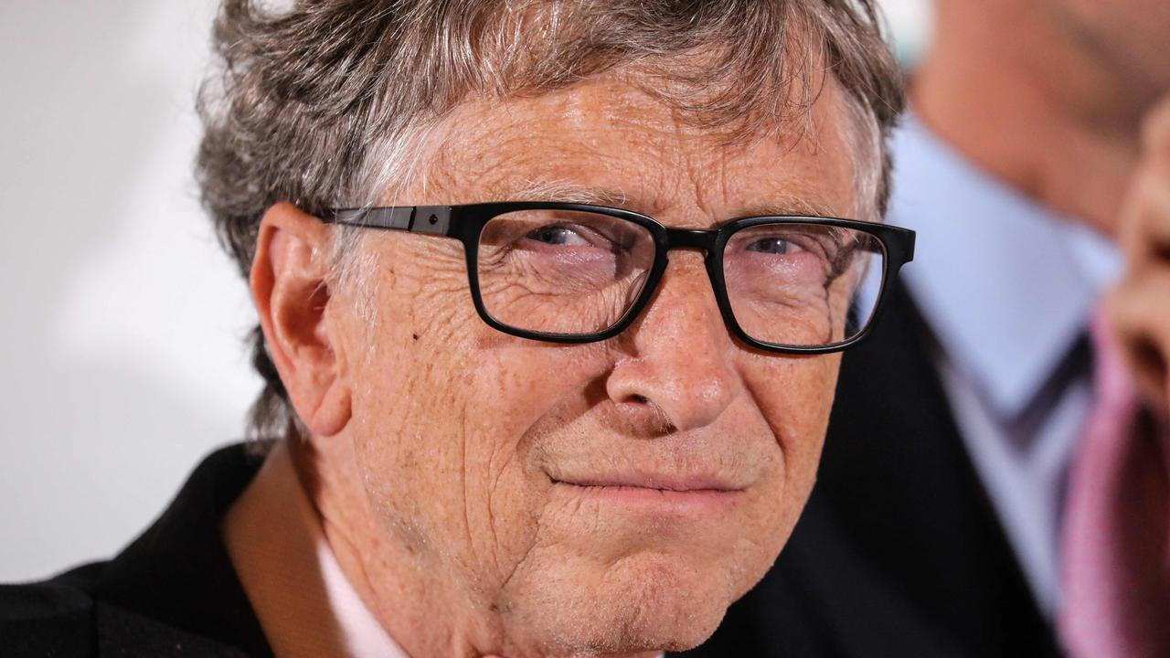 Bill Gates seemed like the ultimate computer geek – but a very different picture of the Microsoft founder has emerged since announcing his divorce. Picture: Ludovic Marin/AFP