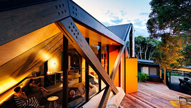 Cabin Two by Maddison Architects. Picture: Will Watt.