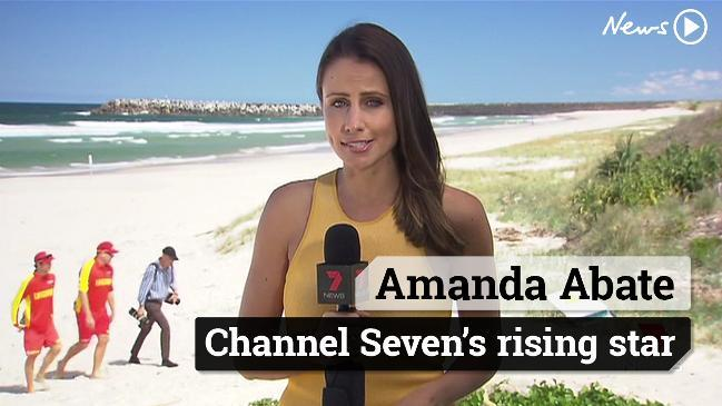 Amanda Abate - Channel Seven's rising star