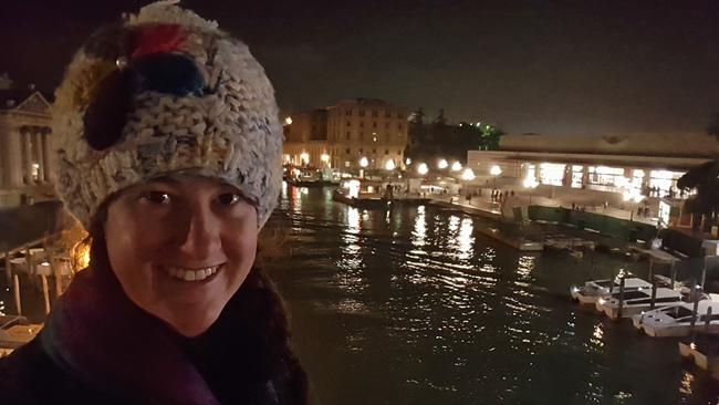Kirrily Schwarz has been travelling around Europe for eight weeks. She never thought her money would go this far.