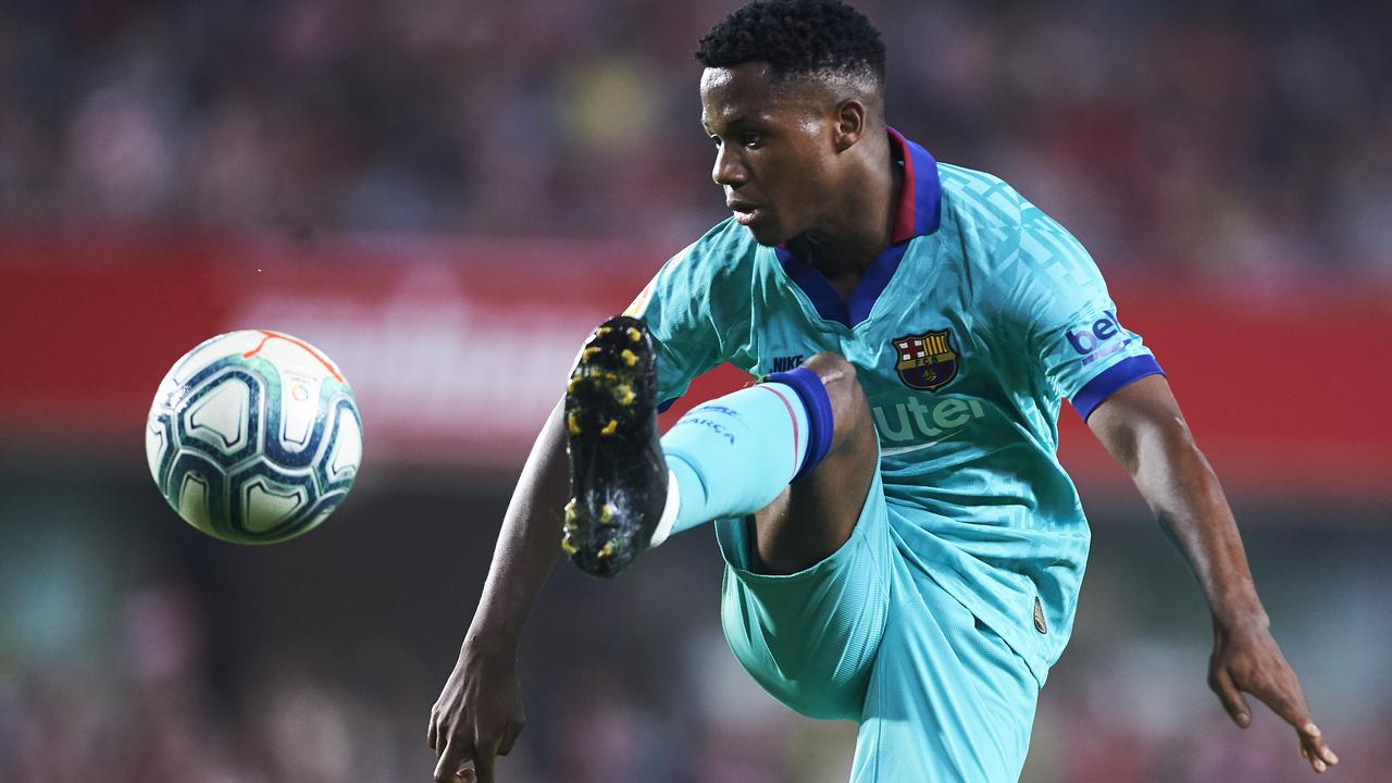 World's most expensive teen: Barcelona slap $650 million price tag on prodigy Ansu Fati