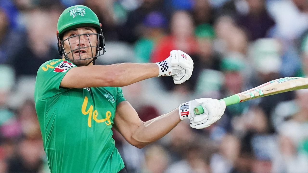 Marcus Stoinis produced a record BBL knock of 147 not out.