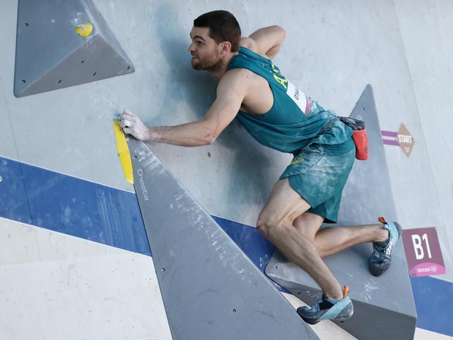 Australia's Tom O'Halloran. Picture: Maja Hitij/Getty Images