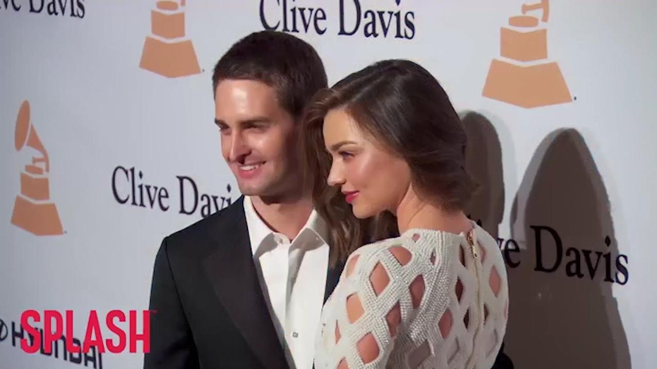 Miranda Kerr marries Evan Spiegel in lavish ceremony